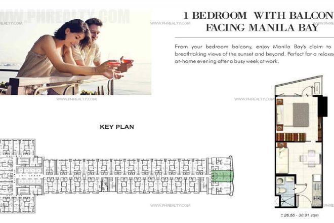 coastresidencessmdc_1 Bedroom with Balcony