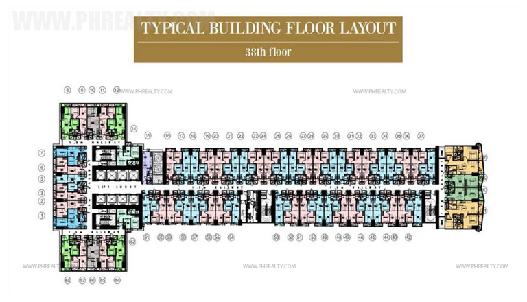 coastresidencessmdc_38th Floor Plan