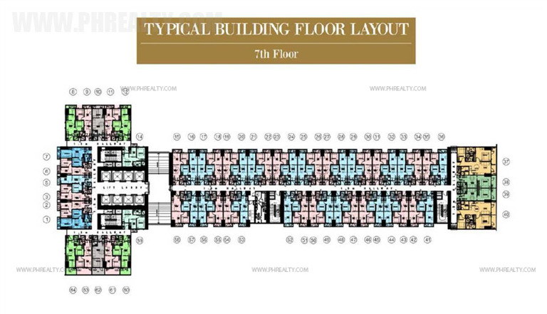 coastresidencessmdc_7th Floor Plan